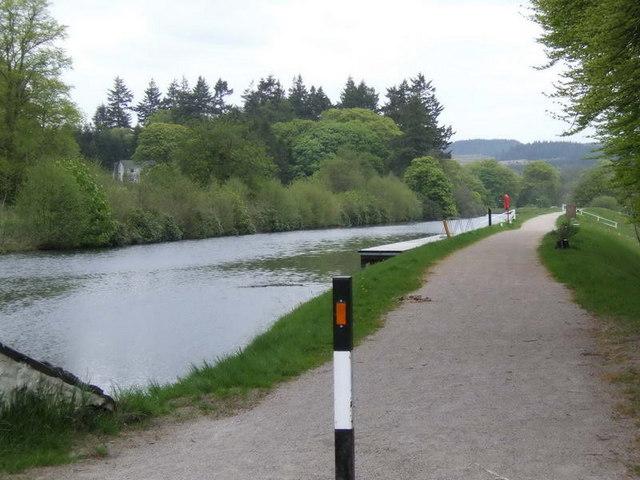Crinan Canal at Lochgilphead