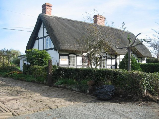 Thatched  timber-frame cottage