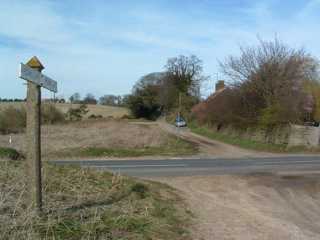Peddars Way Crossing B1145