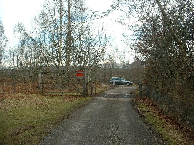 Track near Lynwilg