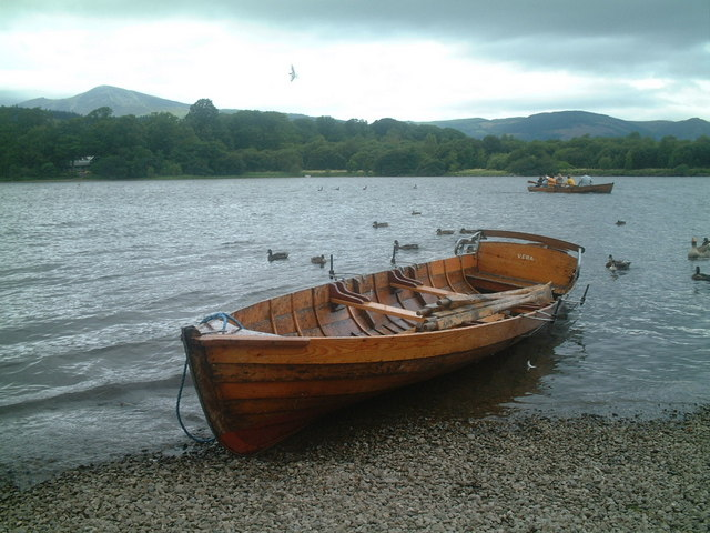 Row boat  for hire Derwentwater