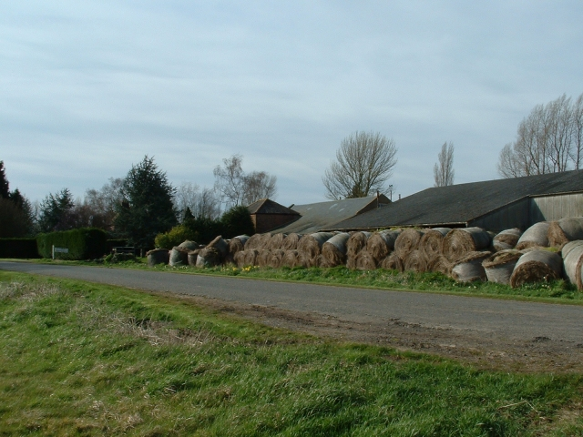Outbuildings at Manor Hill Farm.