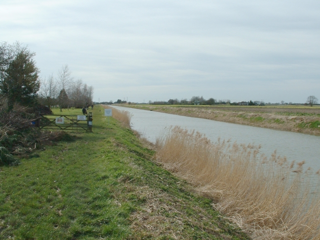 The South Holland Main Drain near Sutton St James.