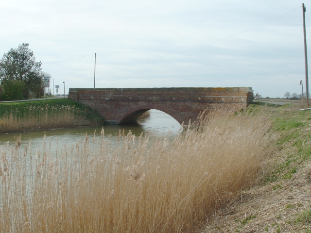 Foreman's Bridge over the South Holland Main Drain.