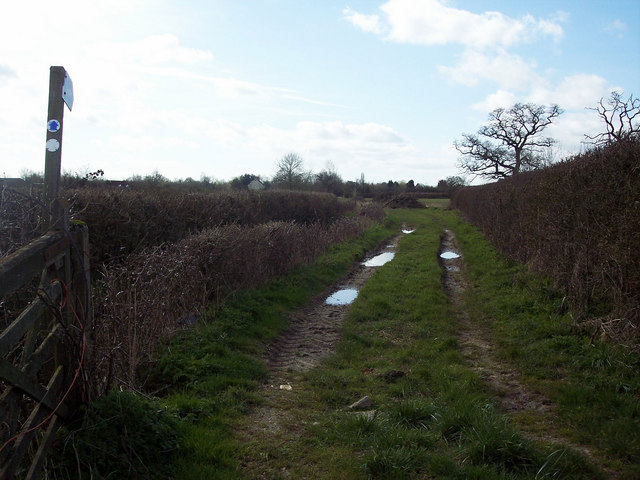Bridleway to Hunter's Farm
