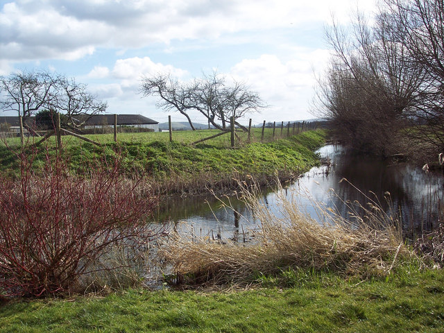 The moat at Thornton Farm