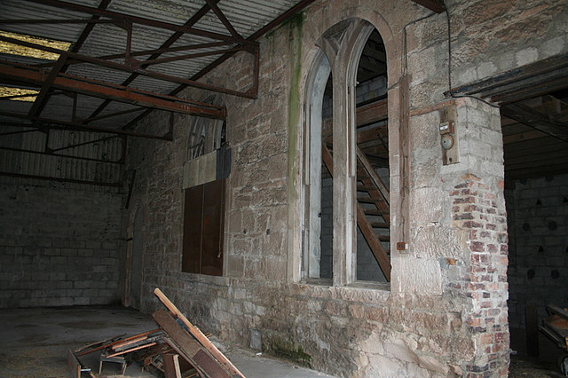 The old mill was a former church!!.