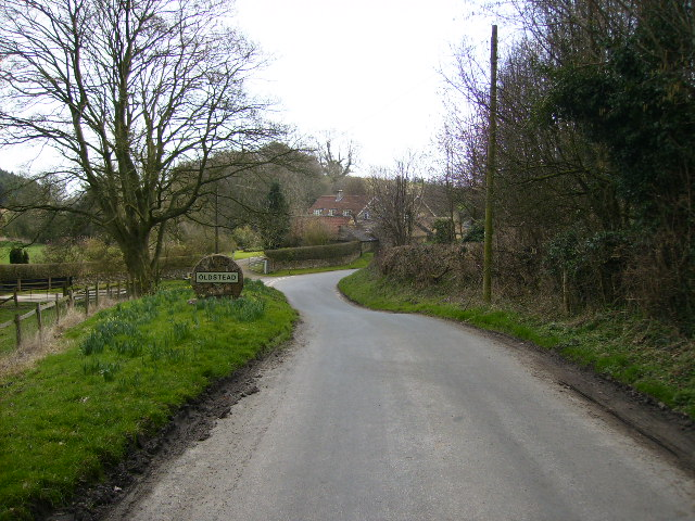 Approaching Oldstead at Scawling Wood