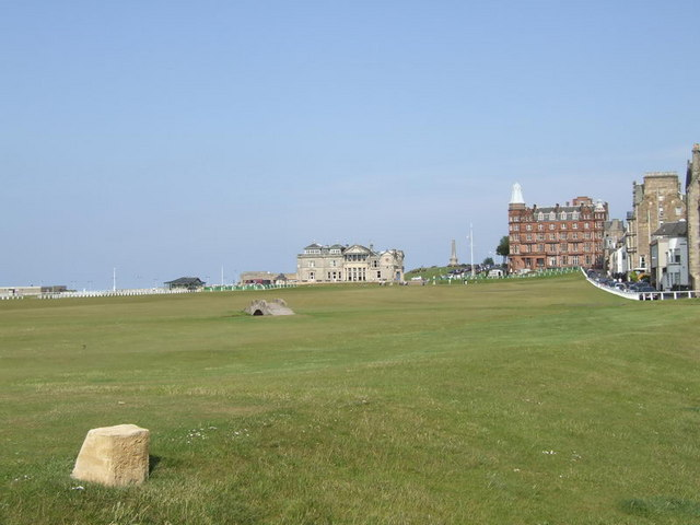 Old Course St Andrews The 18th Fairway