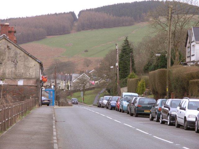 Duffryn main street
