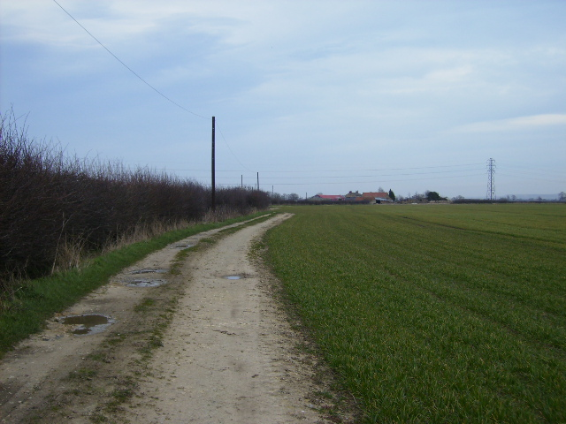 Track to Sleights Farm