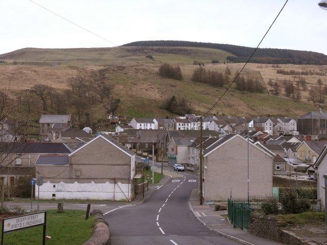 Glyncorrwg village