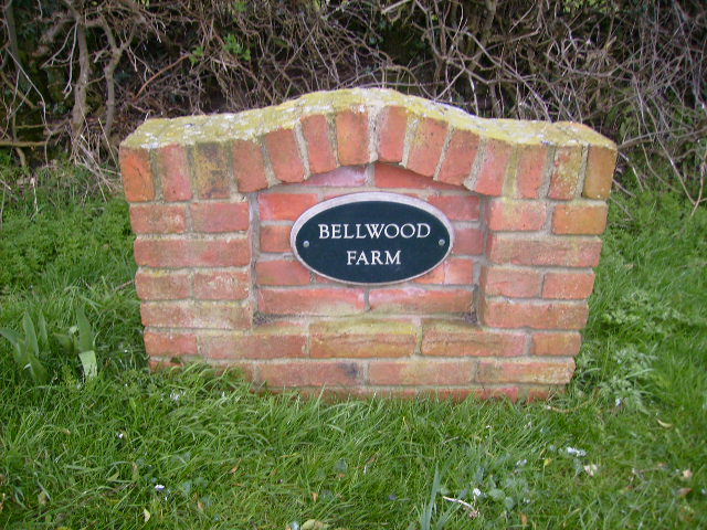 Sign at Bellwood Farm