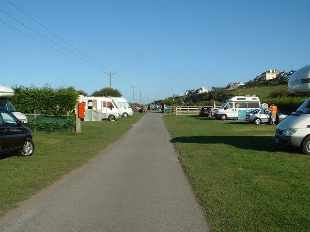 Campsite, Barmouth