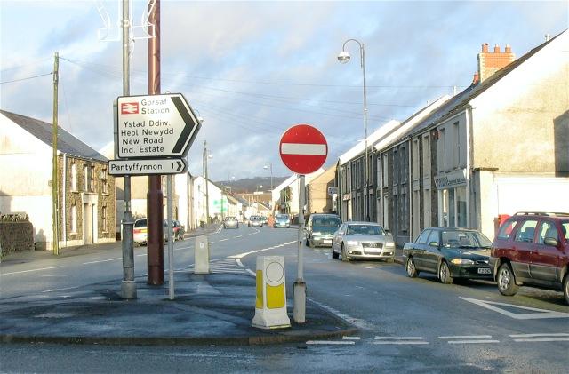Wind Street, Ammanford (Recreated)
