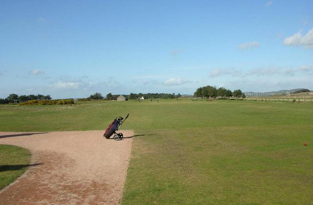 Panmure Golf Course 1st Fairway