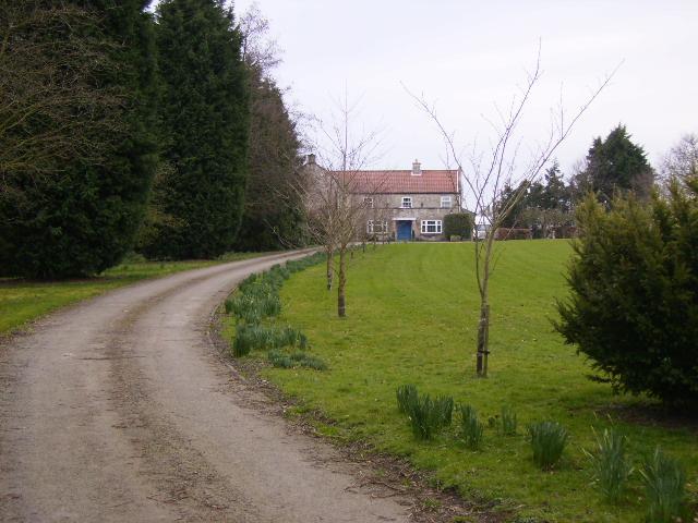 Glebe Farm near Brawby