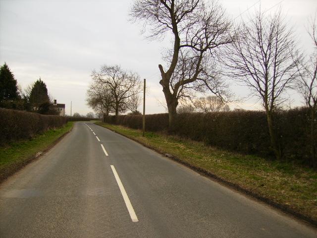 Unclassified road near Great Barugh