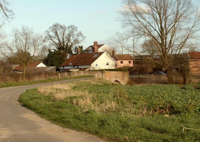 A view of Redenhall village