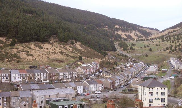 Blaengwynfi village