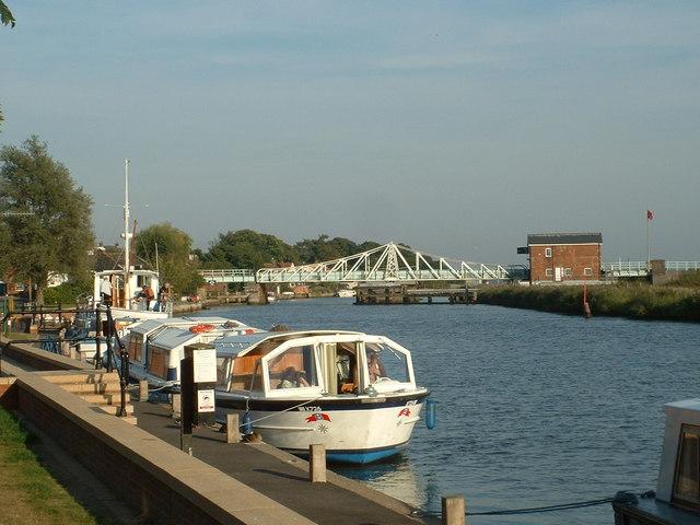 Railway Swing Bridge, Reedham