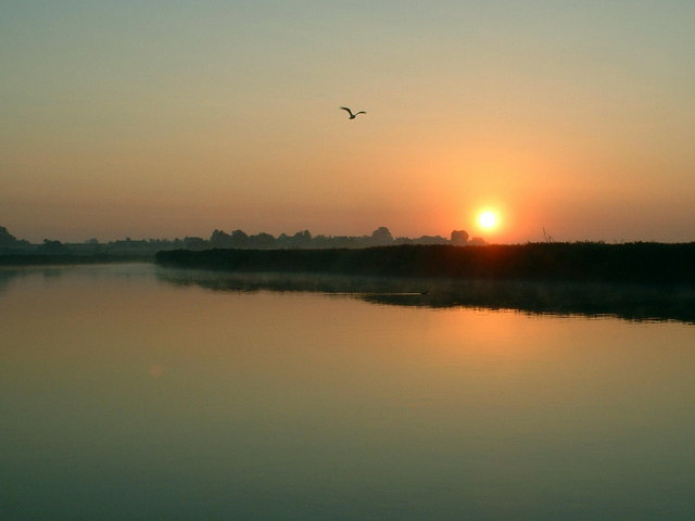Sunrise over Reedham