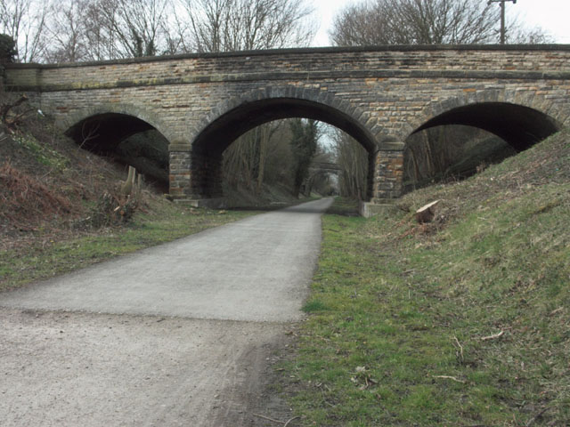 Fine stone bridge over the Cloud Trail