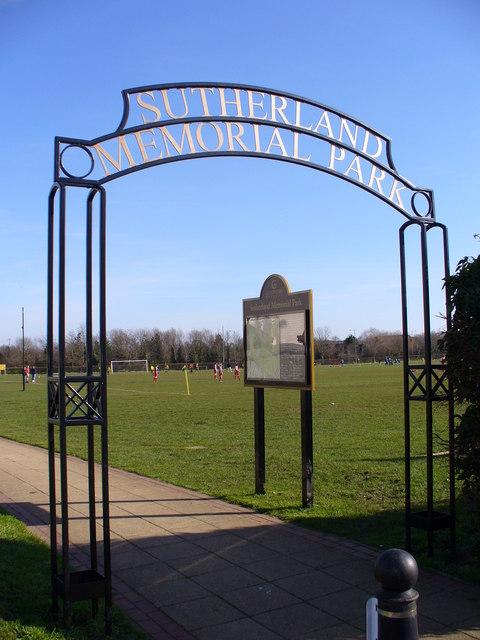 Sutherland Memorial Park, Burpham