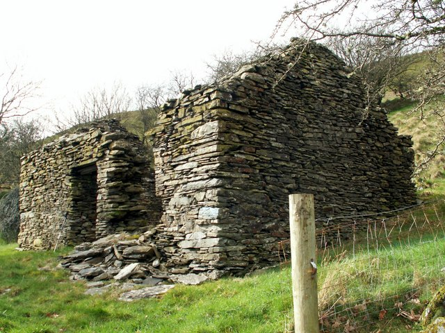 Ruin of  a stone cottage