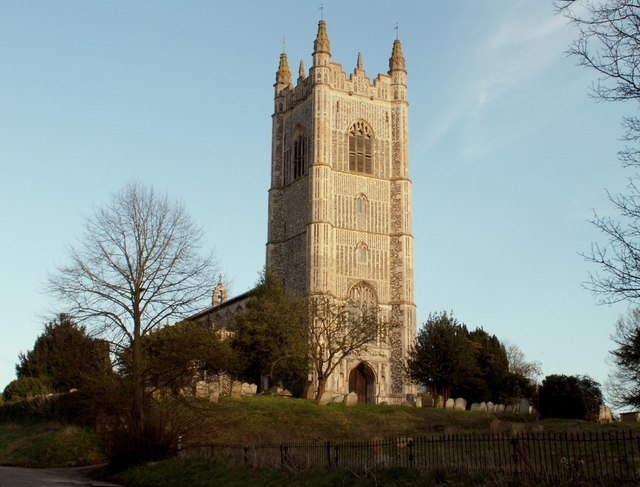 St. Mary's church, Redenhall