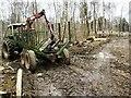 SD4587 : Harvesting Operations, Near Gillbirks by Mick Garratt