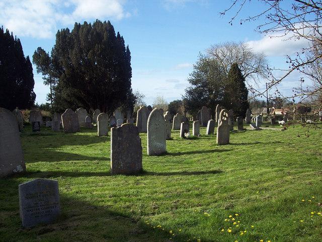 Churchyard at St Gregory's Church, Marnhull