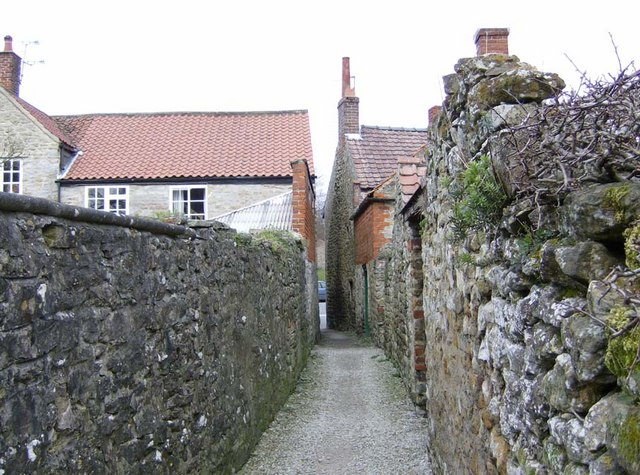 Ancient snicket leading to West End, Kirkbymoorside