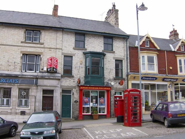 Kirkbymoorside Post Office and much loved 'street furniture'