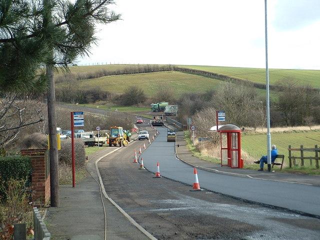 Roadworks in Kirkthorpe