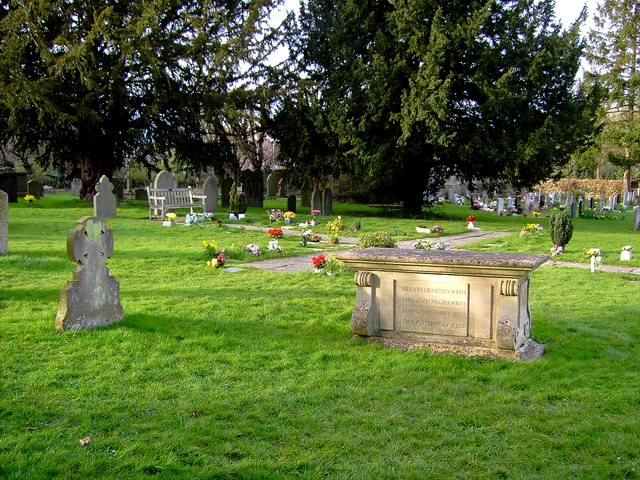 Asquith's tomb, All Saints church, Sutton Courtenay in context