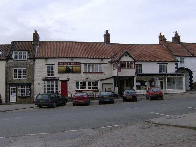Black Swan Inn, Market Place, Kirkbymoorside