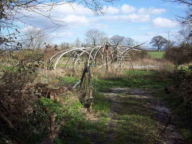 Garden structure at the Willows