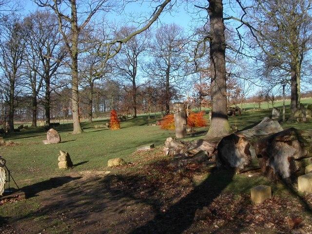 Landscape at Yorkshire Sculpture Park