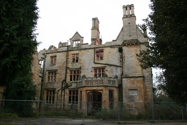 Nocton Hall - entrance front