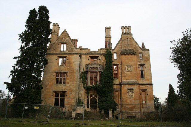 Nocton Hall - west front