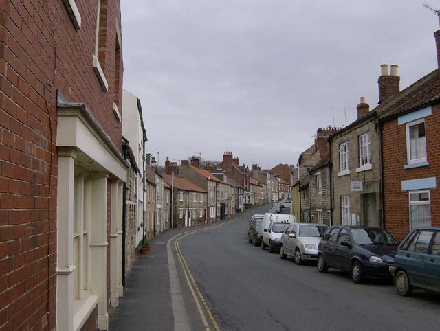 West End, Kirkbymoorside, looking towards the Market Place