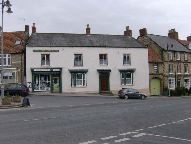 Towler's Chemist shop, Church Street, Kirkbymoorside