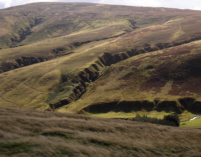 Cushat Law from High Cantle