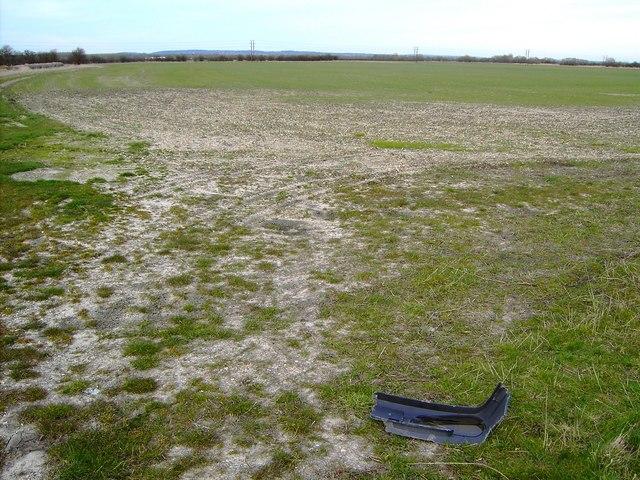Farmland north of the road to Steventon, Oxfordshire