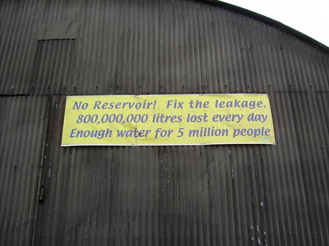 Sign on a farm building near Steventon, Oxfordshire