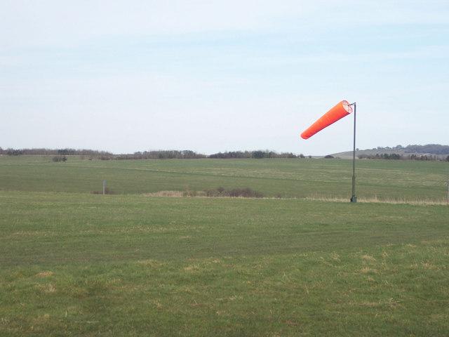 Windsock on Figheldean Field