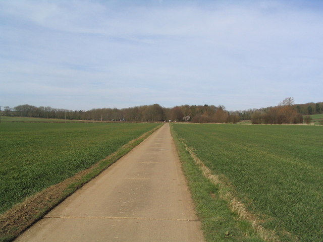 Road to Eyebrook Reservoir