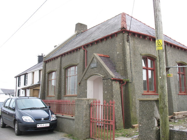 Y Festri or Sunday Schoolroom of the now demolished Capel Seion