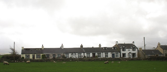 A terrace of cottages at Seion